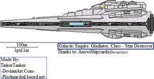 (SW) Imperial, Gladiator, Class-Star Destroyer