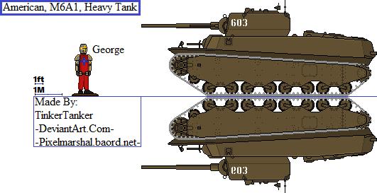 (HIST) American, M6, Heavy Tank by TinkerTanker44432