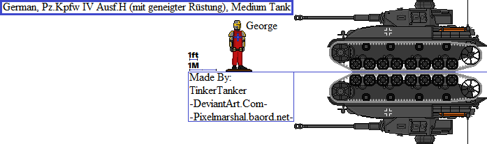 (HIST) Pz.Kpfw H (mit geneigter Rstung), Tank by TinkerTanker44432