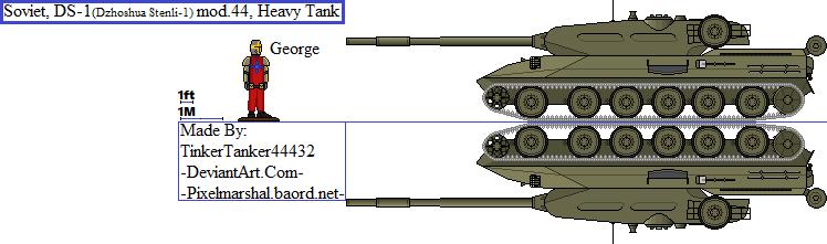 (ALT) Soviet, DS-1 mod.44, Heavy Tank by TinkerTanker44432