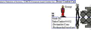 GFS, UACC, Drone Combat Car by TinkerTanker44432