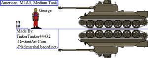 (ALT) American, M4A3, Medium Tank by TinkerTanker44432