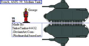 (HIST) French, AMX-39, Medium Tank