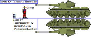 (ALT) Soviet, KV-IS Mod.42, Heavy Tank by TinkerTanker44432