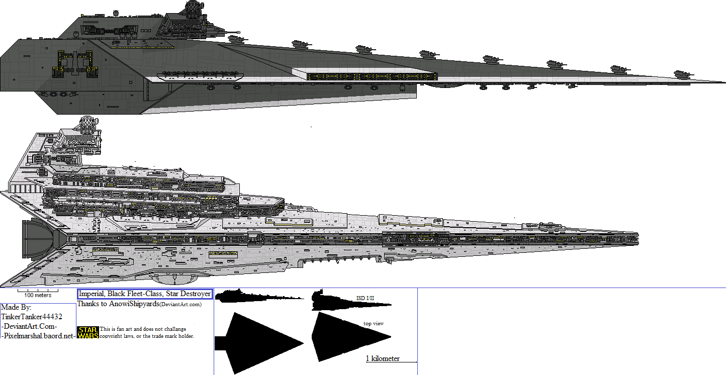 Alt Sw Imperial Black Fleet Class Star Destroyer By Tinkertanker44432 On Deviantart