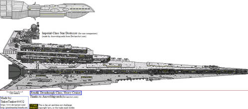 (SW LEG) Rendili, Dreadnought-Class, Heavy Cruiser