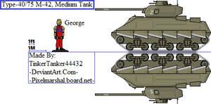 (ALT) Type-40/75 M-42, Medium Tank