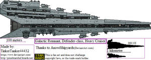 (ALT SW) Galactic Remnant, Defender-class, HC