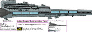 ALT SW: Galactic Remnant Deterrence-class, Carrier
