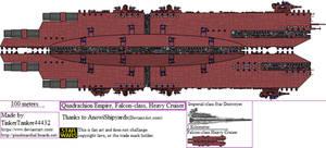 (ALT SW) Quadrachion Empire, Falcon-class, HC