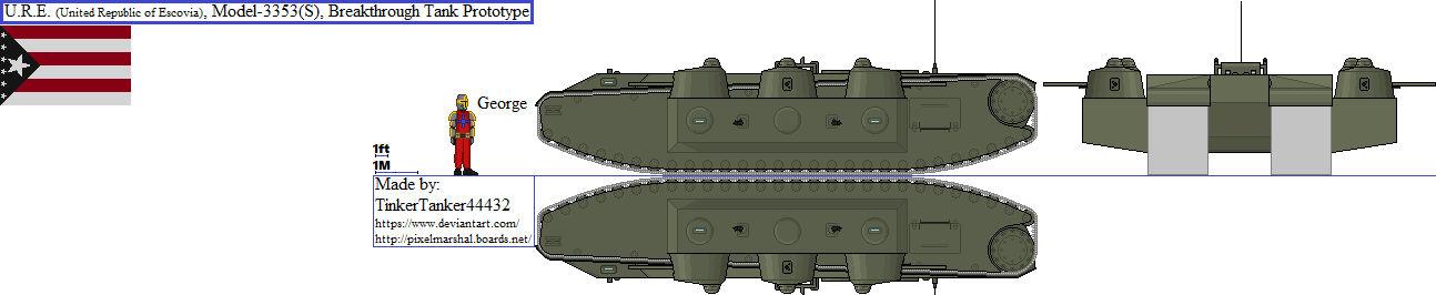 (ALT) U.R.E., Model-3337(S), Breakthrough Tank