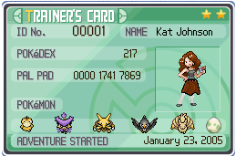 OC Trainer Card by mystacisms
