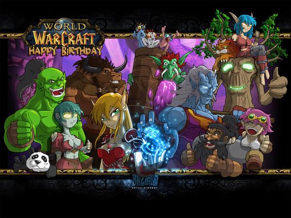 Birthday Cake Warcraft