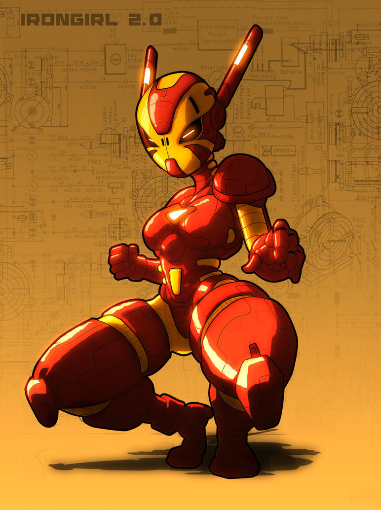 irongirl 2.0 by neitsabes