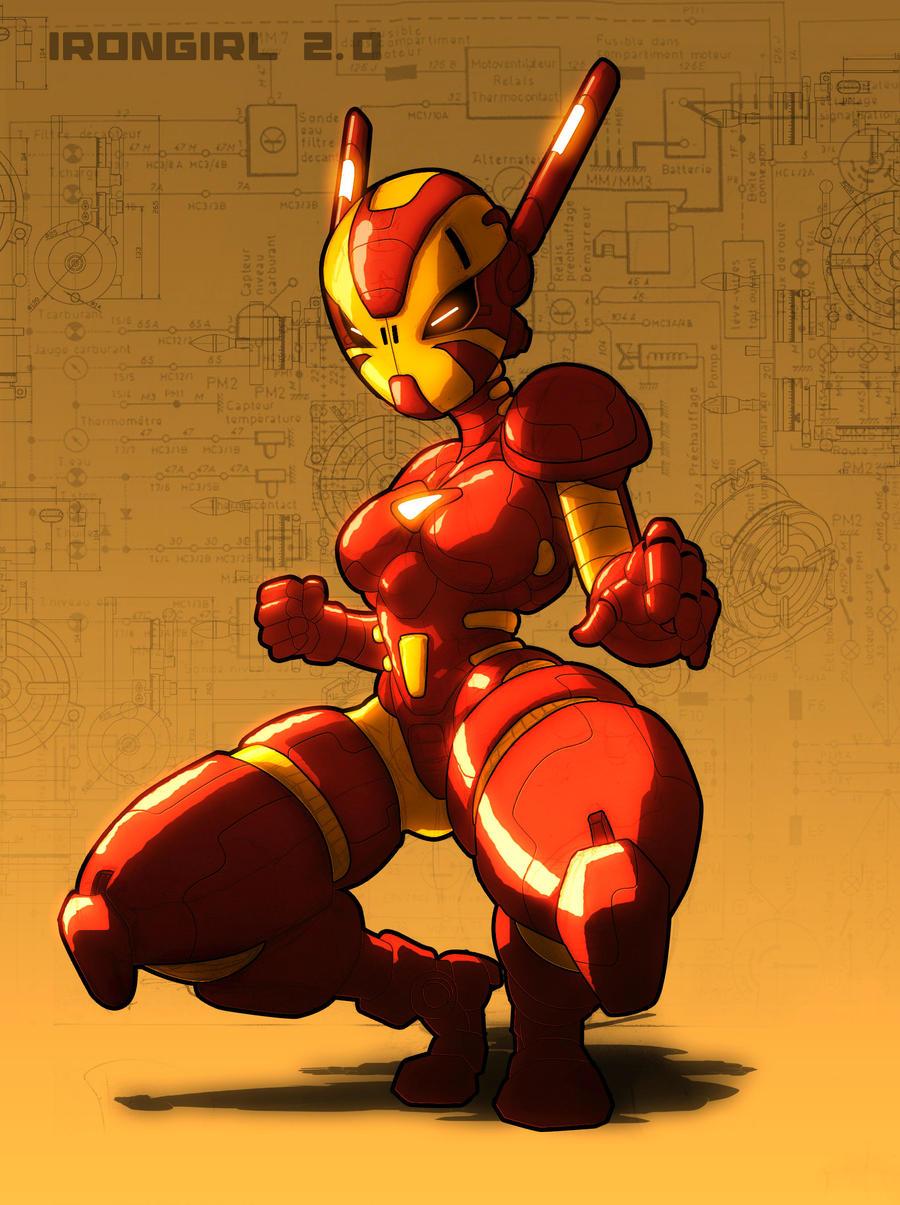 irongirl 2.0 by neitsabes
