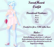 MMD Sweetheart Outfit DL by Arneth-Myndraavn