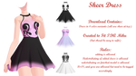 MMD Sheer Dress DL