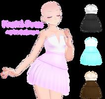 MMD Pastel Dress DL by Arneth-Myndraavn