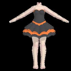 MMD [WIP] Halloween Outfit by Arneth-Myndraavn