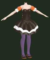 MMD [WIP] Halloween Outfit 2 by Arneth-Myndraavn