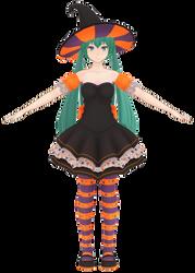 MMD [WIP] Halloween Outfit 3 by Arneth-Myndraavn