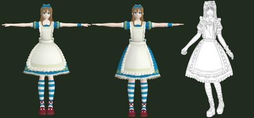 MMD [WIP] Alice rework by Arneth-Myndraavn