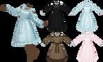 MMD/VRChat Pastel Lolita Dress ~1000 points P2U~