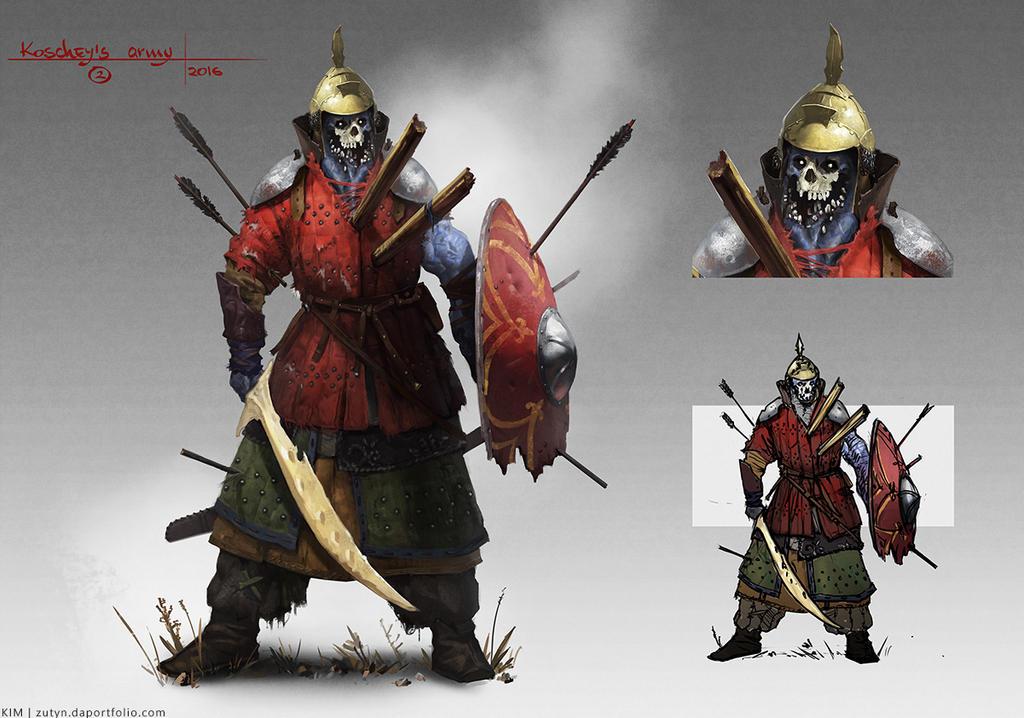 Koschey's Army by Zutyn
