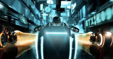 tron uprising light cycles