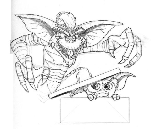 94 ideas Gremlins Coloring Pages on gerardduchemanncom