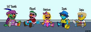 New Muppet Babies by Gonzocartooncompany