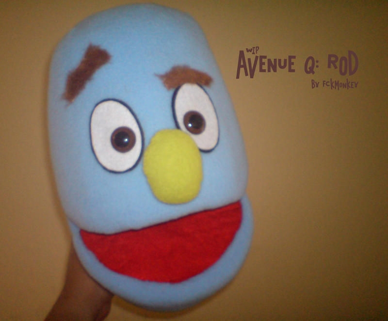 how to make avenue q box puppets