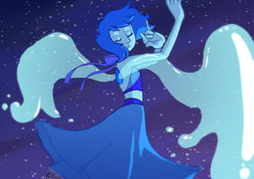 Lapis lazuli's wings by Penn92Evans