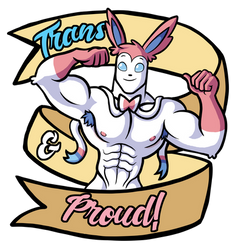 Trans Pride Syveon (T-Shirts and more available!)