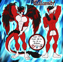 Calamity Reference Sheet Commission