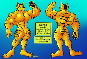 Derek Ref Sheet Commission