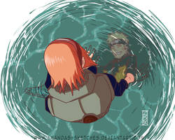 A reflection of dreams- NaruSaku by amandas-sketches