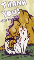 Thank You [Okami Style] by amandas-sketches
