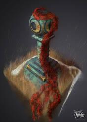 Pillar Digital art / Colonne en 2D
