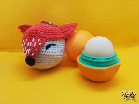 Fox case for EOS lipbalm