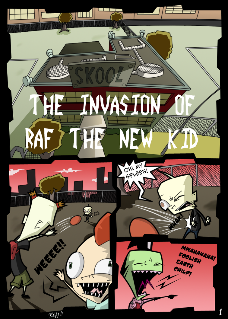Invader Zim Fan Comics Invader Zim: TIORTNK p...