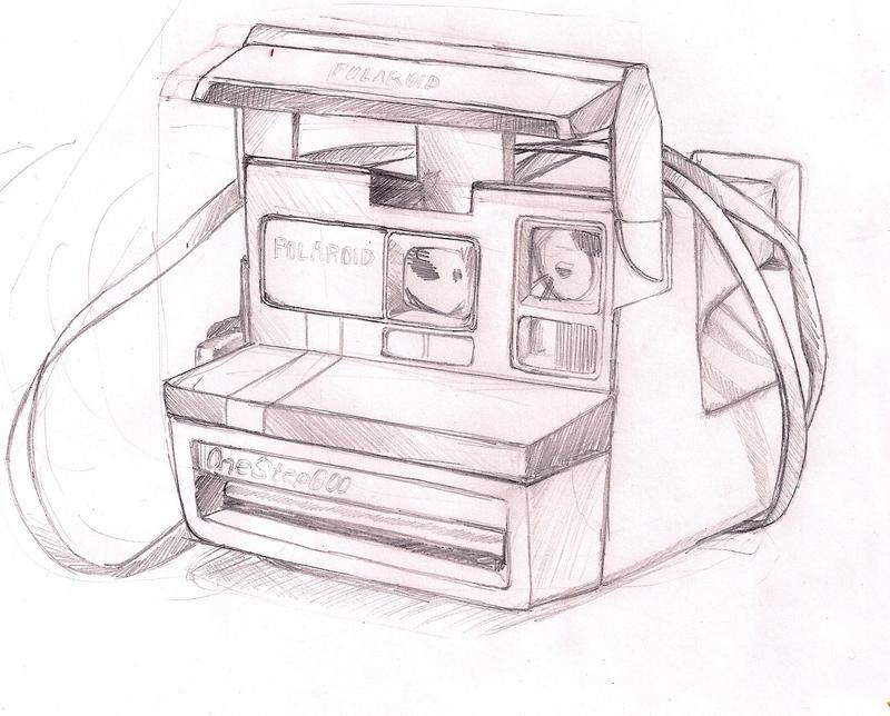 Image Gallery Polaroid Sketch