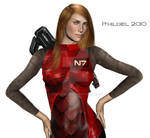 Shepard by Ithildiel