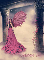 Rose Faerie by Ithildiel