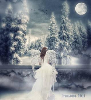 Winter night by Ithildiel
