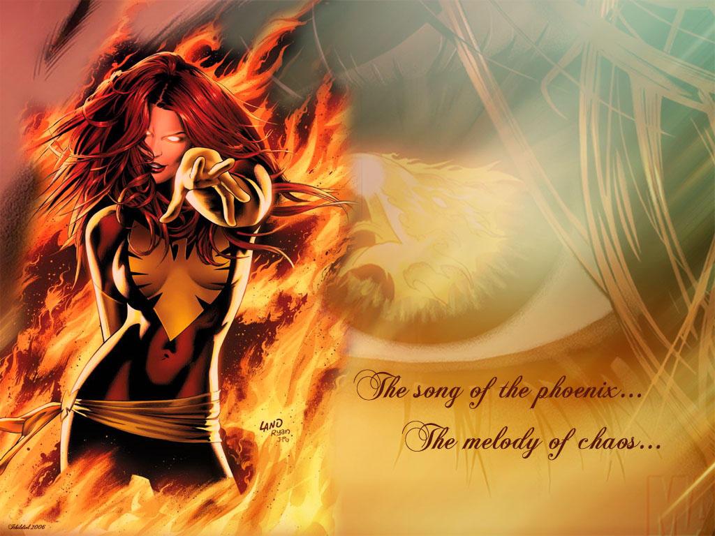 Endsong phoenix by ithildiel on deviantart - Jean grey phoenix wallpaper ...
