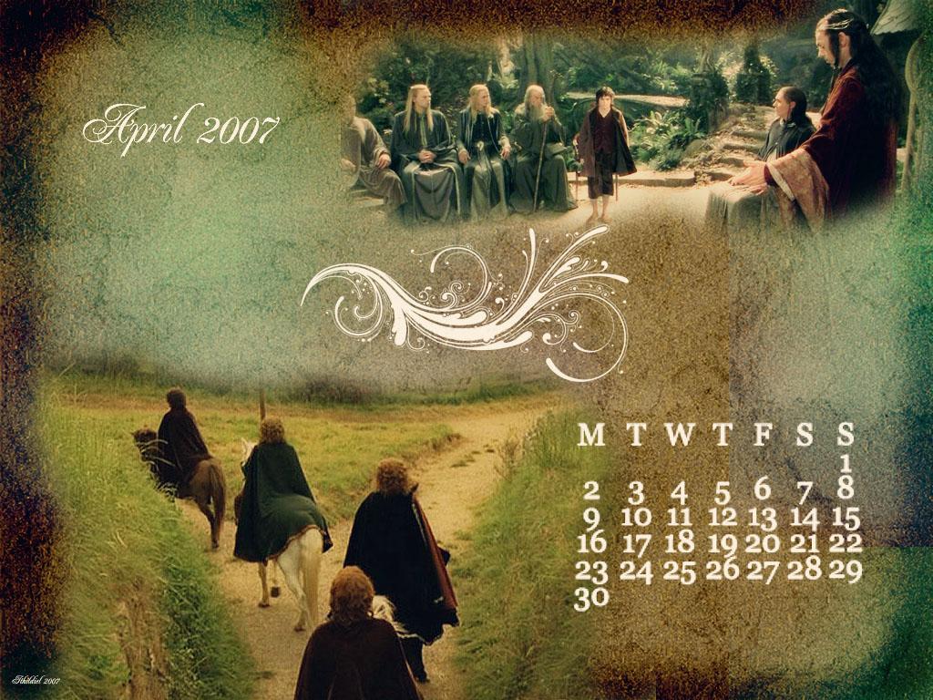 April Calendar by Ithildiel