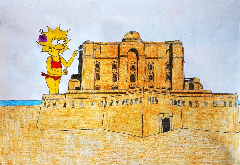 Castle of sand by GladiatorRomanus