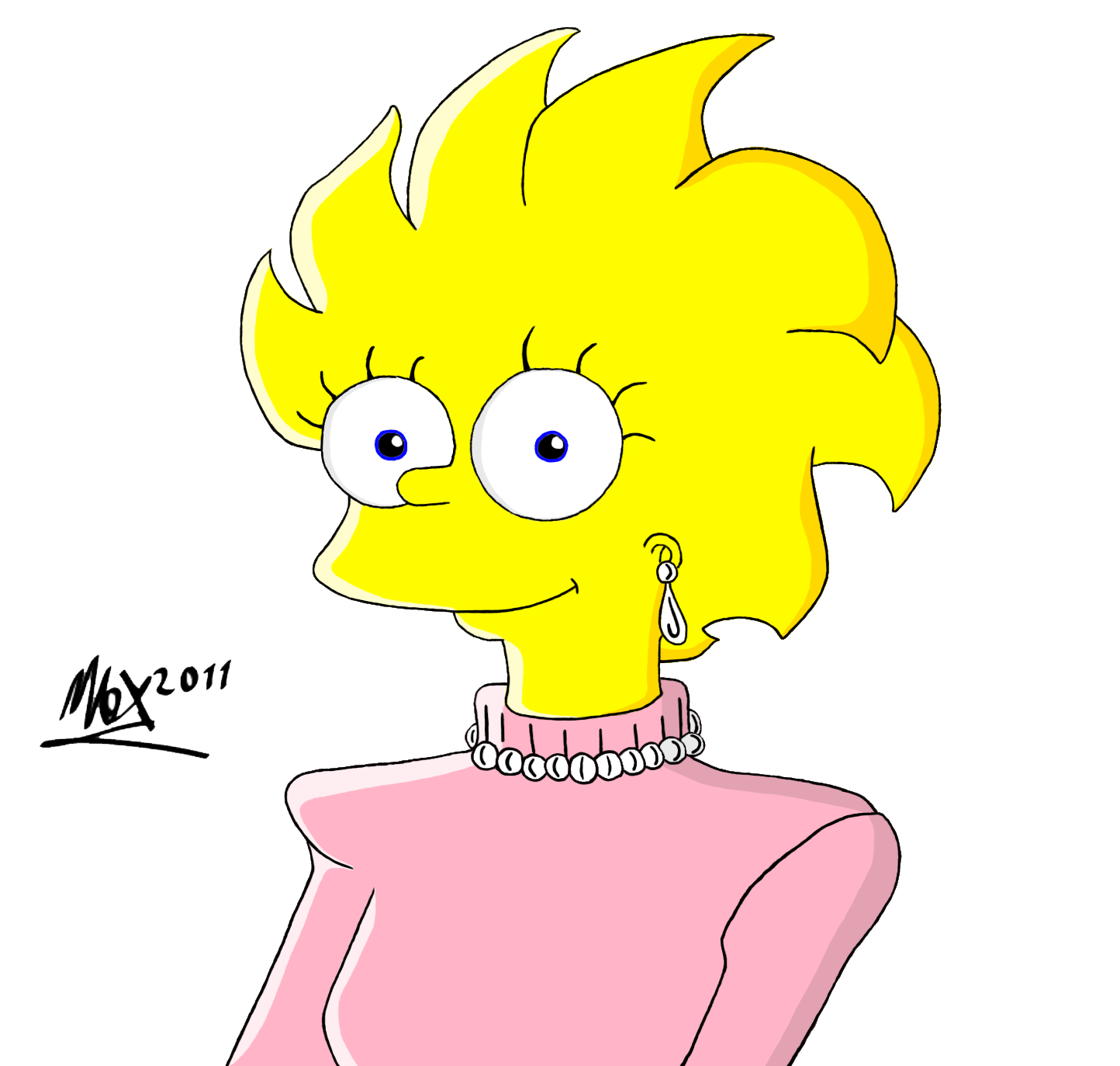 New Lisa Simpson by GladiatorRomanus