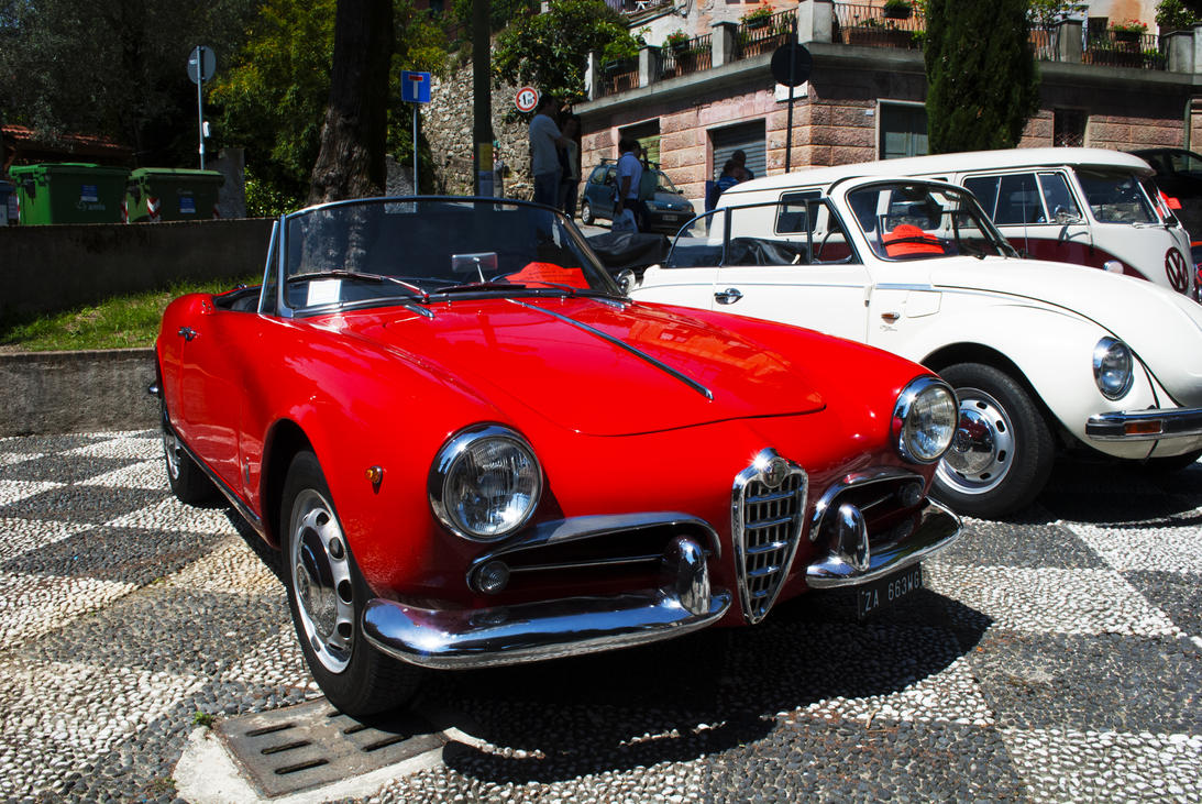 1960 Alfa Romeo Giulietta Spider By GladiatorRomanus On
